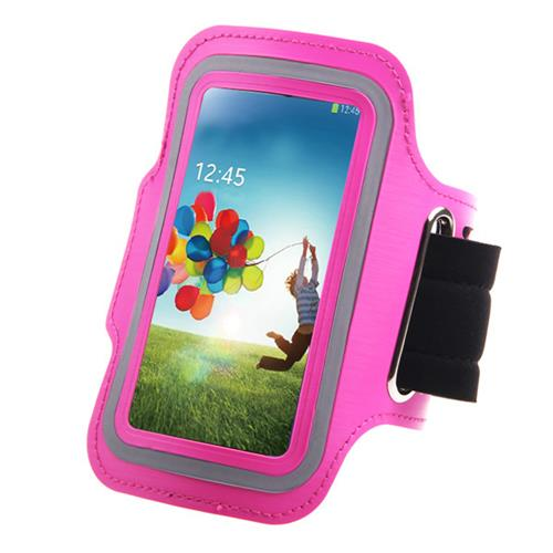 Exian Sports Arm Band for Samsung Galaxy Ace 2X/S3/S4 Pink