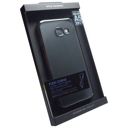 Viva Madrid Samsung Galaxy A5 Fitted Soft Shell Case - Gun Metal
