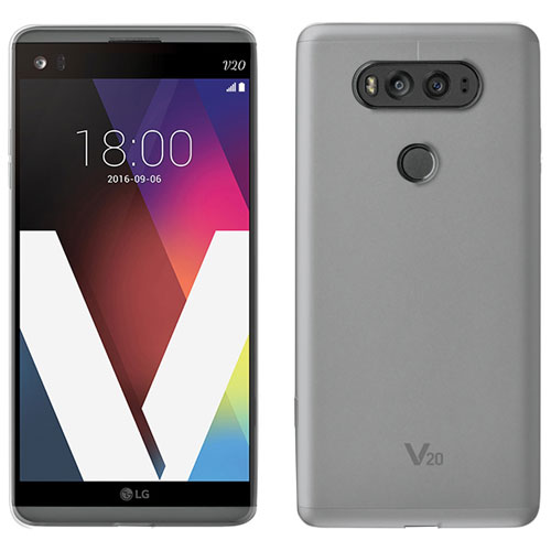 Libratel Ultra Slim LG V20 Gel Skin Case - Clear