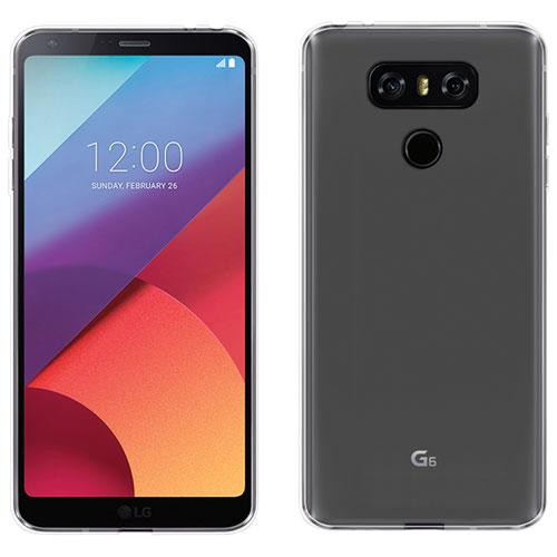 Étui en gel ultramince de Libratel pour G6 de LG - Transparent