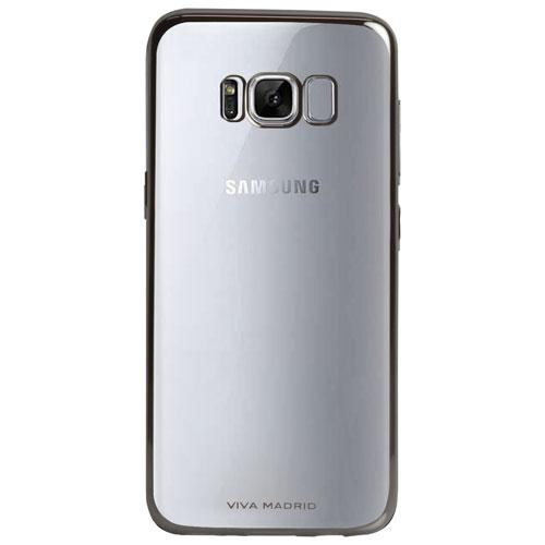 Étui souple ajusté Metalico de Viva Madrid pour Galaxy S8 Plus de Samsung - Bronze industriel