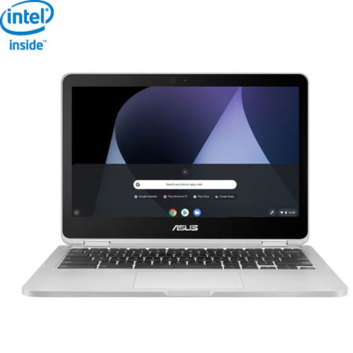 "ASUS Flip 12.5"" Chromebook - Silver (Intel Core m3-6Y30 / 64GB SSD / 4GB RAM / Chrome OS)"