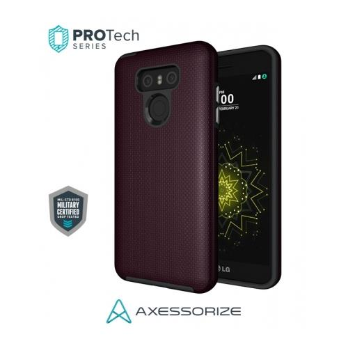 Axessorize PROTech Case LG G6 Burgundy Red