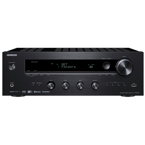 ONKYO TX-8140 Network Stereo Receiver with Built-In Wi-Fi & Bluetooth, Refurbished, English