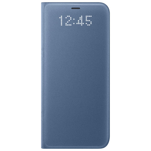 Samsung LED View Fitted Hard Shell Case for Galaxy S8 - Blue