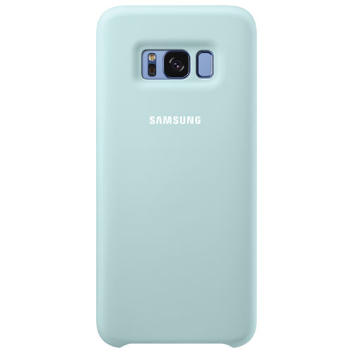 Samsung Silicone Fitted Soft Shell Case for Galaxy S8 - Blue