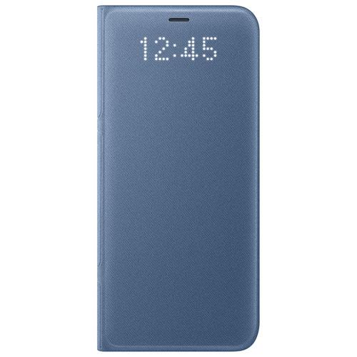 Étui rigide ajusté LED View de Samsung pour Galaxy S8+ - Bleu