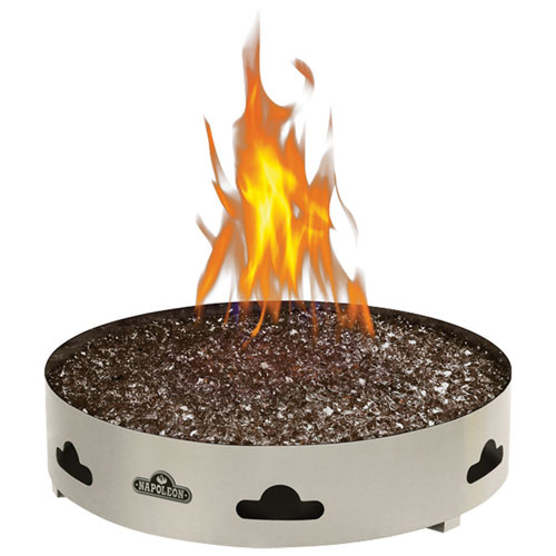 High Quality Napoleon Patioflame Natural Gas Fire Pit   60,000 BTU