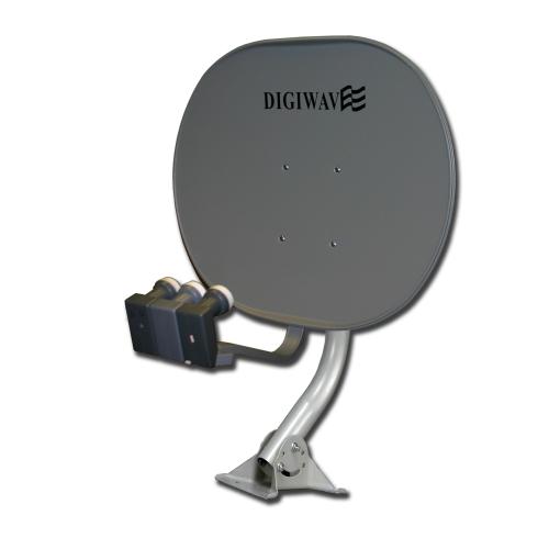 Digiwave 33 inch Elliptical Satellite Dish