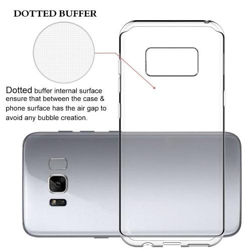 Navor Samsung Galaxy S8 Plus Clear Case, Ultra Thin TPU Matte Transparent Clear Soft Skin Case Cover