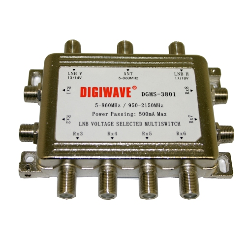 Digiwave 3 IN 8 OUT Multiswitch