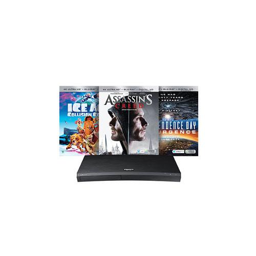 Lecteur Blu-ray UHD 4K avec films de Samsung (F-UBD-M9500/ZC)