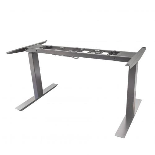 Dual Motor Programmable Standing Desk (Frame Only) - Silver : Desks ...