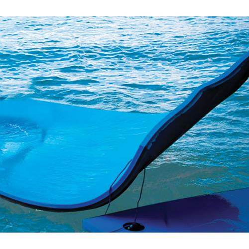 Floating mats for pools or lake blue black model for Best pool buys canada
