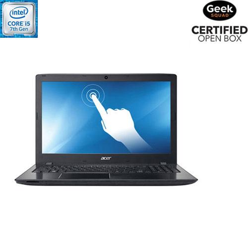 "Acer Aspire E 15.6"" Touchscreen Laptop - (Intel Core i5-7200U/1TB HDD/8GB RAM/Win 10) - Open Box"