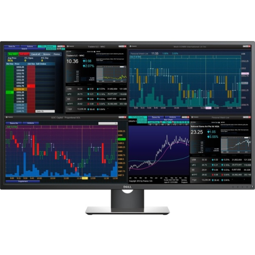 DELL P4317Q ULTRA HD 4K MULTI-CLIENT IPS MONITOR 3840 X 2160 , BUILT IN SPEAKERS