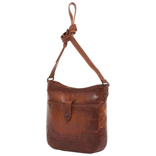 Frye Melissa Leather Crossbody Bag - Cognac   Crossbody Bags - Best Buy  Canada 45152c5c40c9a