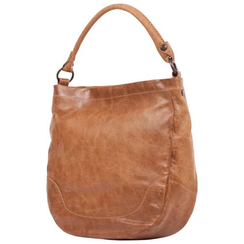 Frye Melissa Leather Hobo Bag - Beige : Hobo Bags - Best Buy Canada
