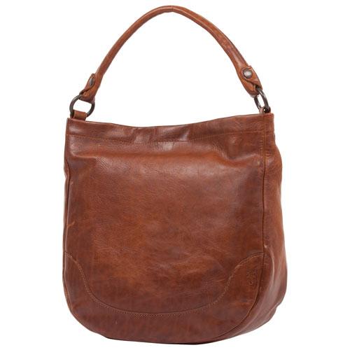 Frye Melissa Leather Hobo Bag - Cognac   Hobo Bags - Best Buy Canada fa784365b6760