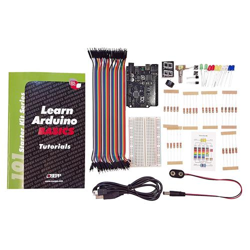 Osepp arduino basics starter kit uno board included