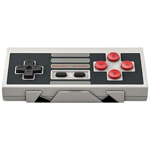 8Bitdo Retro Receiver & Wireless Controller for NES Classic Edition - Grey/Black/Red
