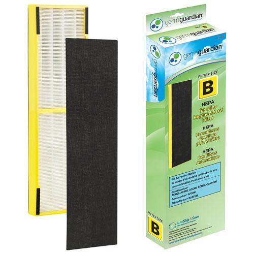 germ guardian flt4825 hepa replacement filter : air purifier filters ...