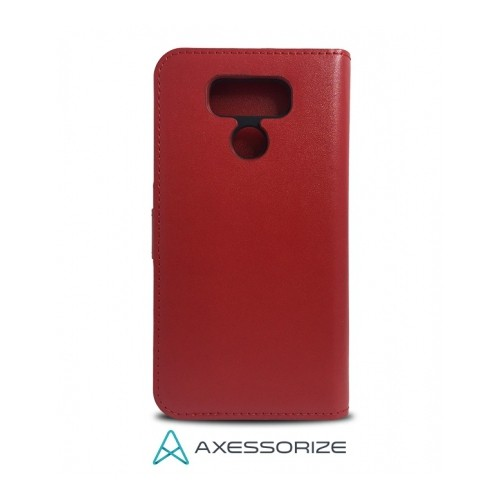 Axessorize Folio Case LG G6 Rouge