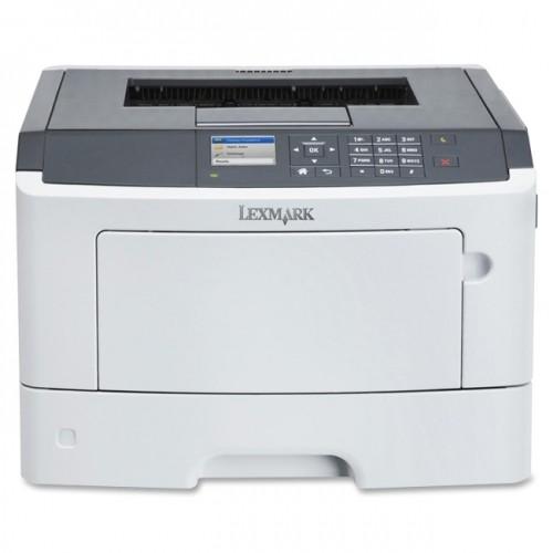 Lexmark MS510DN Laser Printer - Monochrome - 1200 x 1200 dpi Print - Plain Paper Print - Desktop