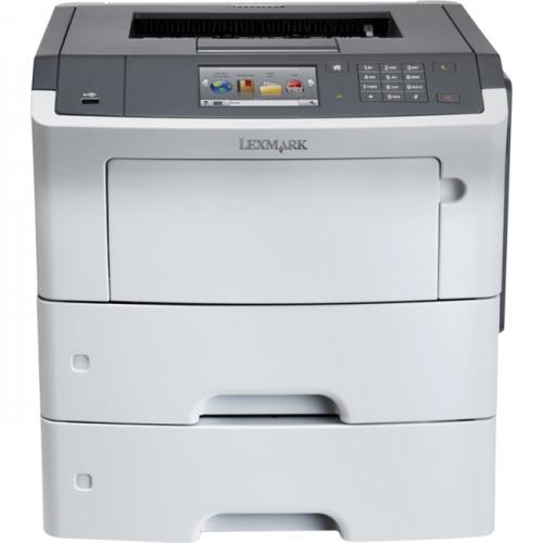 Lexmark MS610DTE Laser Printer - Monochrome - 1200 x 1200 dpi Print - Plain Paper Print - Desktop