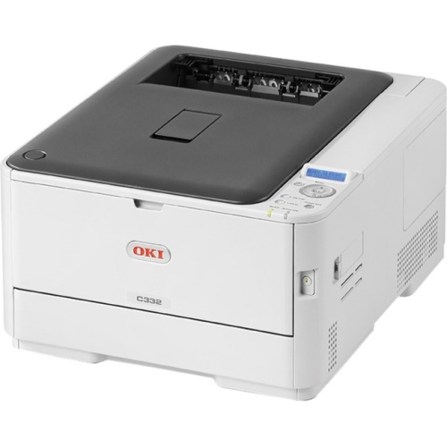 Oki C332dn LED Printer - Color - 1200 x 600 dpi Print - Plain Paper Print - Desktop