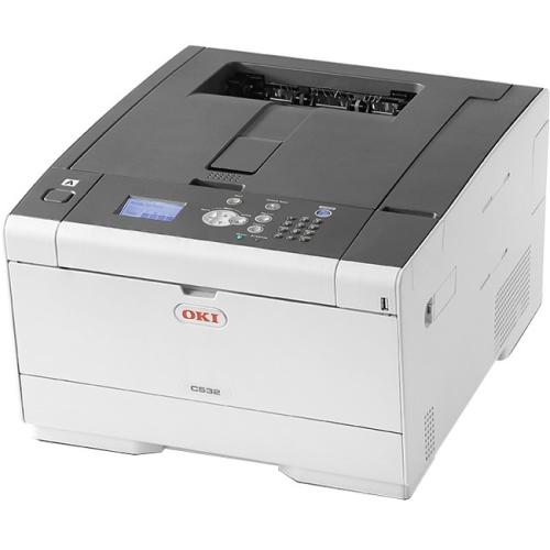 Oki C532dn LED Printer - Color - 1200 x 1200 dpi Print - Plain Paper Print - Desktop