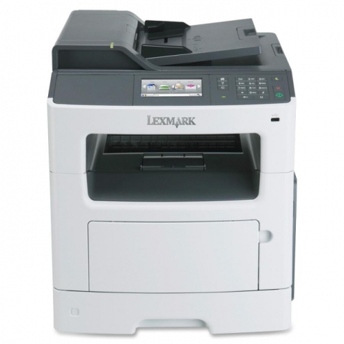Lexmark MX410DE Laser Multifunction Printer - Monochrome - Plain Paper Print - Desktop