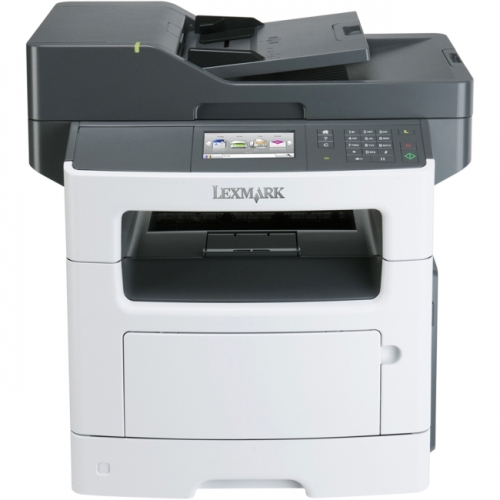 Lexmark MX511DE Laser Multifunction Printer - Monochrome - Plain Paper Print - Desktop