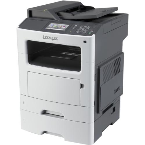 Lexmark MX511DTE Laser Multifunction Printer - Monochrome - Plain Paper Print - Desktop