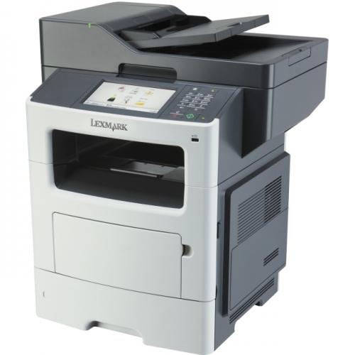 Lexmark MX610DE Laser Multifunction Printer - Monochrome - Plain Paper Print - Desktop