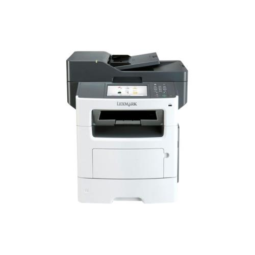 Lexmark MX611DE Laser Multifunction Printer - Monochrome - Plain Paper Print - Desktop