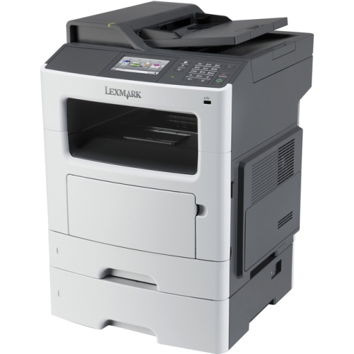 Lexmark MX611DTE Laser Multifunction Printer - Monochrome - Plain Paper Print - Desktop