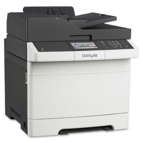 Lexmark CX410E Laser Multifunction Printer - Color - Plain Paper Print - Desktop