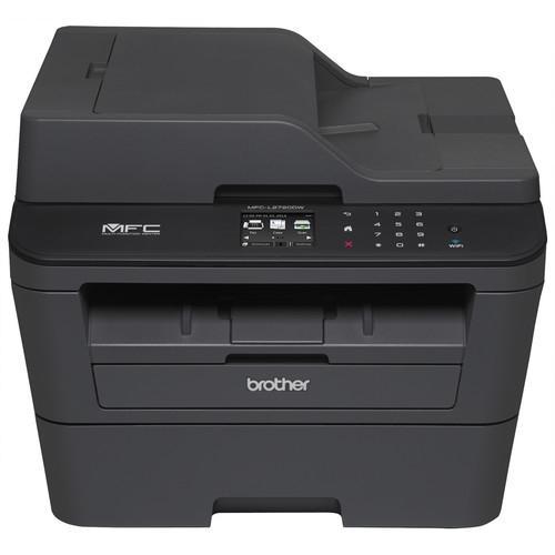 Brother MFC-L2720DW Laser Multifunction Printer - Monochrome - Plain Paper Print - Desktop