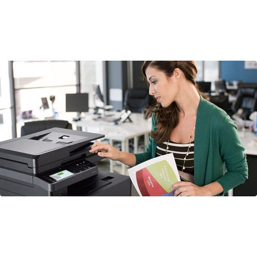 Dell H825cdw Laser Multifunction Printer - Color - Plain Paper Print - Desktop