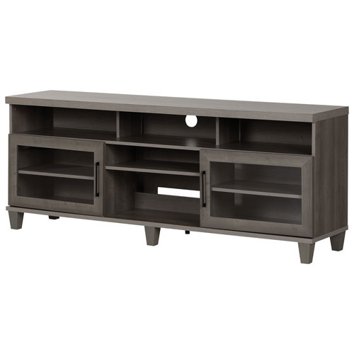 "South Shore Adrian 75"" TV Stand - Grey"