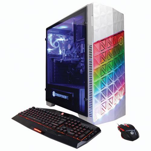 Gamer Master GMA300 de CyberPowerPC (Ryzen 7 1700 AMD/DD 1 To/RAM 8 Go/GeForce GTX 1050 NVIDIA) - An