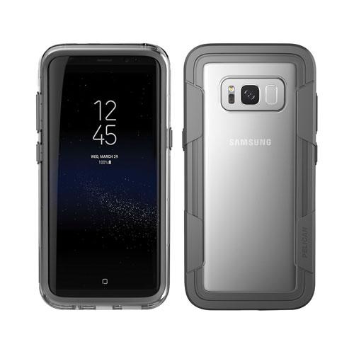 Étui rigide ajusté Voyager de Pelican pour Galaxy S8 de Samsung - Noir