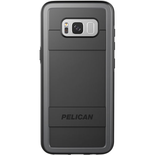 Pelican Protector Samsung Galaxy S8 Fitted Hard Shell Case - Black/Grey