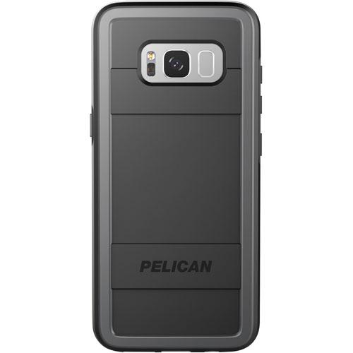 Étui-coque rigide ajusté Protector de Pelican pour Galaxy S8 de Samsung - Noir-gris