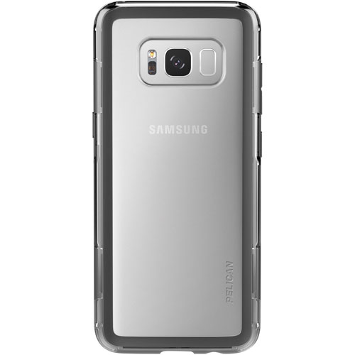 Pelican Adventurer Fitted Hard Shell Case for Galaxy S8 Plus - Clear/Black