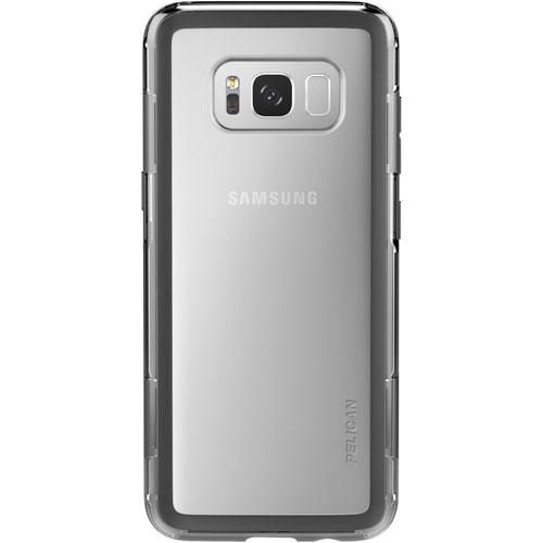 Étui rigide ajusté Adventurer de Pelican pour Galaxy S8 - Transparent - Noir