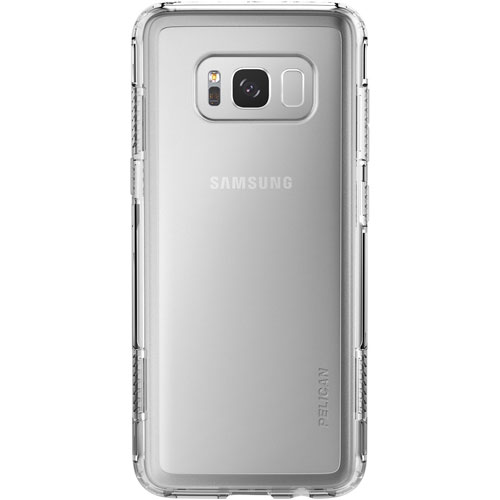 Pelican Adventurer Fitted Hard Shell Case for Galaxy S8 - Clear