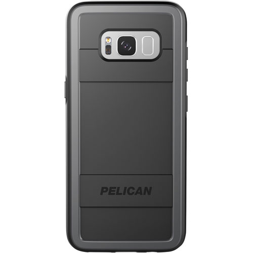 Pelican Protector Fitted Hard Shell Case for Samsung Galaxy S8 Plus - Black/Grey
