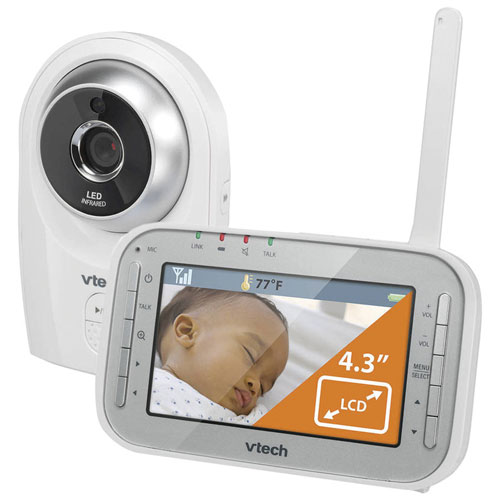 """VTech Safe&Sound 4.3"""" Video Monitor with Two-way ..."""